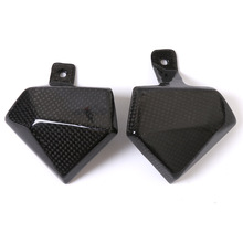 Motorcycle Motorbikes Accessories Carbon Fiber Carburator Cover Protection Guard Protector For Kawasaki Z800 2013 2014-2016