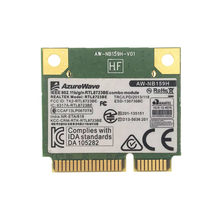 AZUREWAVE AW-NB159H Realtek RTL8723BE Half Mini PCI-E Wifi Bluetooth 4.0 wireless card for Asus Dell
