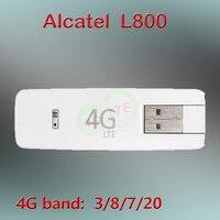 잠금 해제 알카텔 원터치 L800 3g 4g USB 모뎀 4G USB 스틱 동글 알카텔 L800o 4g 모뎀 sim 4g 모뎀 usb 잠금 해제