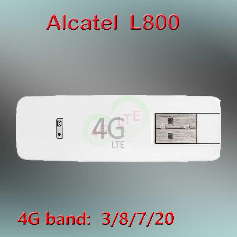 Ontgrendeld Alcatel One Touch L800 3G 4G Usb Modem 4G Usb Stick Dongle Alcatel L800o 4G modem Sim 4G Modem Usb Unlocked