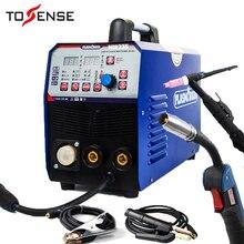 TIG/MMA/MIG сварочный аппарат 3в1 комбинированный многофункциональный сварочный аппарат 220V& Torchs