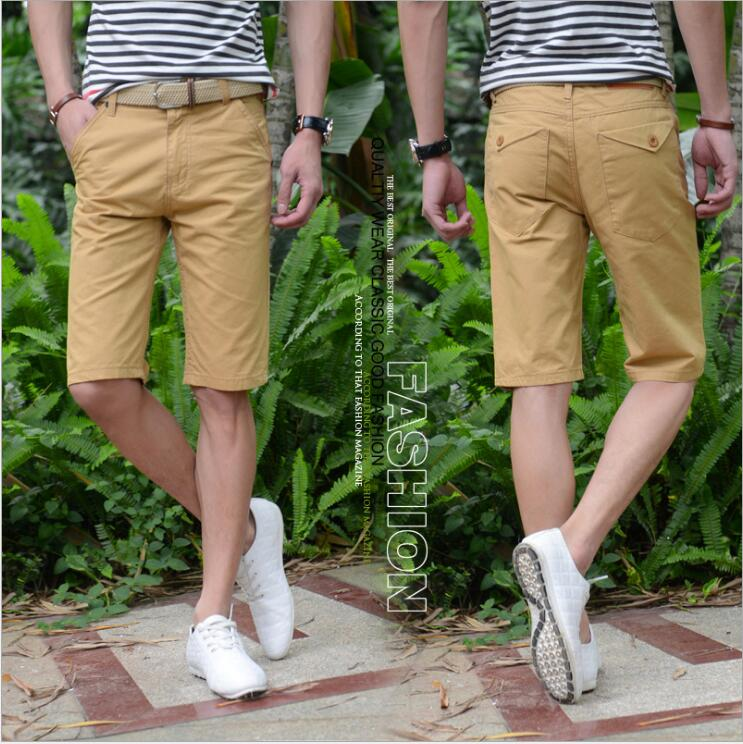 XHS20 Summer 2018 Thin Korean Version Of Men's Middle Trousers With Casual Pants