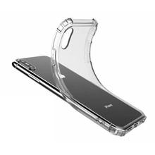 עבור iPhone iPhone XS XR קריסטל TPU רך בחזרה מקרה iPhone7 8 עמיד הלם מלא טלפון מקרה Slim ברור חזרה כיסוי עבור iPhone XS מקסימום