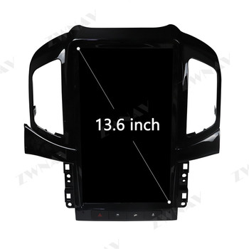 """13.8"""" Android 9.0 PX6 4GB+64GB For Chevrolet Captiva 2013 - 2017 Built-in DSP Carplay Tesla Style Big Screen Car GPS Navigation"""