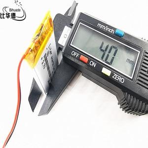 Image 4 - LÍT Năng Lượng Pin 042040P 3.7V 402040P 380MAH Pin Lithium Polymer MP4 MP3 Điểm Đọc Bút Đèn Flash giày Dạ Quang Giày