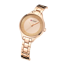 CURREN Top Brand Woman's Watch Creative Luxury Design Female Watches Stainless Steel Waterproof Casual Quartz Wristwatches Gifts цена и фото
