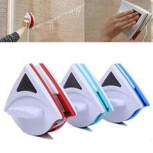 Limpiador de vidrio de ventana magnética, doble cara, para lavar ventanas, superficie exterior, cepillo, escobilla de vidrio, herramienta de limpieza