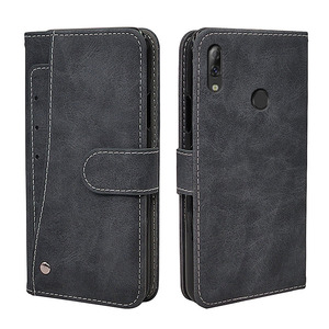 Luxury Wallet Case For Lenovo A5 K5 S5 K520 K9 Z5s K5s Z6 Pro Play Lite Case Vintage Flip Leather TPU Silicone Cover Card Slots(China)