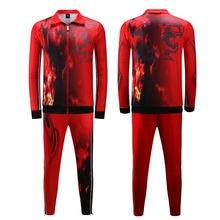 Survete для мужчин t футбола майки бега спортивный костюм дизайн