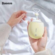 Baseus 4000mAh Double-side Rechargeable Hand Warmer Heater Travel Mini LED Electric Handy Heating Wa