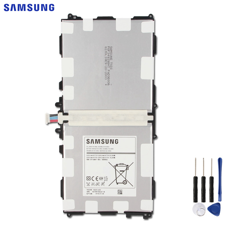 <font><b>SAMSUNG</b></font> Original Replacement Tablet <font><b>Battery</b></font> T8220E For <font><b>Samsung</b></font> Galaxy SM-P601 P600 P605 P607T T525 T520 <font><b>Note</b></font> <font><b>10.1</b></font> <font><b>2014</b></font> <font><b>Edition</b></font> image