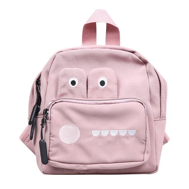 Детский рюкзак с рисунком крокодила из мультфильма для мальчиков и девочек, нейлоновая школьная сумка на молнии, Детские рюкзаки с защитой от потери, милый модный детский подарок