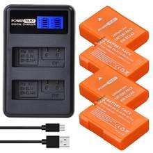 1530mAh EN-EL14 EN-EL14A EL14 Orange Batterie + LCD Chargeur Double USB pour Nikon D5200 D3100 D3200 D5100 P7000 P7100 MH-24