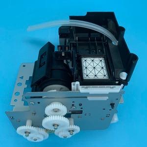 Image 4 - DX5 druckkopf Tinte Auf Wasserbasis Pumpe Montage Capping Station für Epson 7800 7880C 7880 9880 9880C 9800 Pumpe Einheit Reinigung einheit