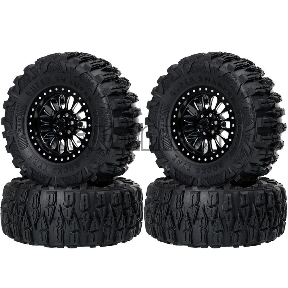 1x 2.2/'/' Aluminum Beadlock Wheel Rim hub for AXIAL Wraith D90 1//10 RC Crawler