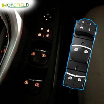 Automatyczny przełącznik podnoszenia okna inteligentne okna bliżej pomarańczowy LED przycisk okna elektrycznego dla Nissan x-trail T32 2014 RHD tanie i dobre opinie CN (pochodzenie) 0inch Przełącznik sterujący do okna four car windows lifter