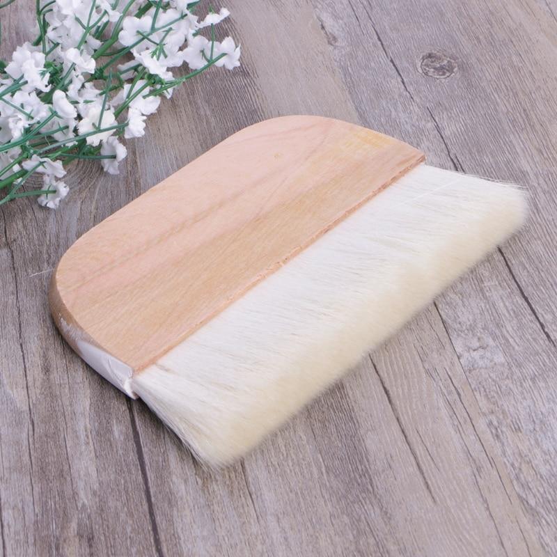 8in Wooden Handle Art Supplies Watercolor Brush Goat Hair Hake Brush Paint Brush N7MB