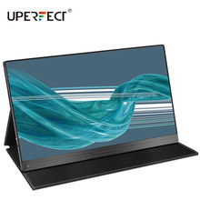 UPERFECT 17.3 calowy przenośny Monitor wąskie boczne rozszerzenie komputera 1080p USB typ C ekran Ps4 przełącznik Xbox Huawei wyświetlacz telefonu