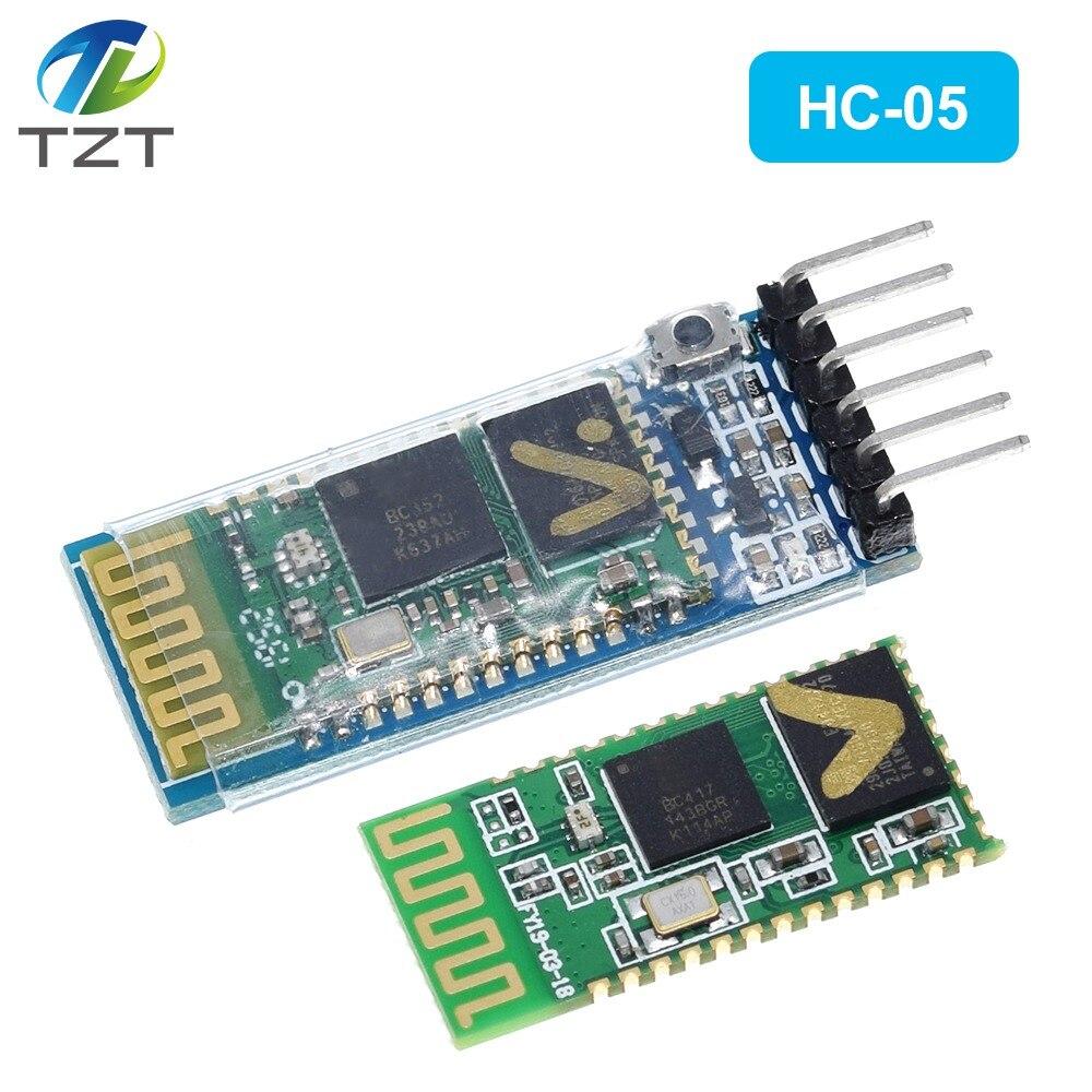 HC-05 HC05 Bluetooth alıcı-verici modülü 2.4G RF kablosuz endüstriyel Bluetooth modülü RS232 / TTL UART dönüştürücü 6PIN