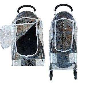Image 5 - Yoyo impermeable accesorios de cochecito de bebé cubierta de lluvia cubierta impermeable para Babyzen Yoyo Yoya Babytime Babysing de seguridad Material EVA