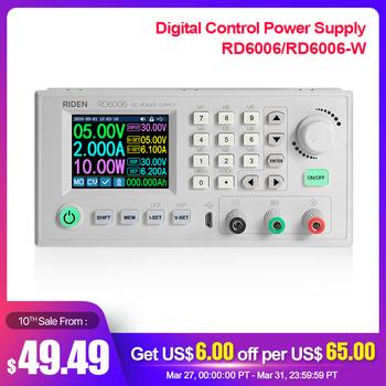 RD RD6006 RD6006W usb wifi dc-dc napięcie prądu Step-down moduł zasilania przekształtnik napięcia buck woltomierz 60V 6A aa tanie i dobre opinie Elektryczne Digital keyboard Cyfrowy wyświetlacz 0-6A IN 6-70 00V 167*81*65mm - 10- 40 ℃ 0-60V DC 0-6A