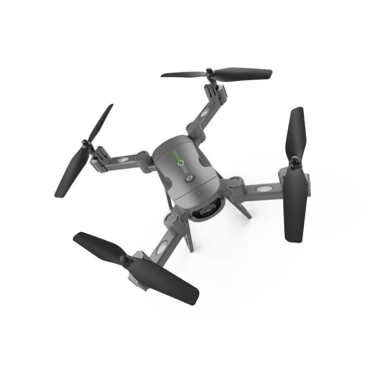 Lh-x24 Folding Unmanned Aerial Vehicle Remote Control Aircraft Helicopter Charge Electric Drop-resistant Quadrocopter Toy