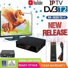 HD DVB T2 Ontvanger Satelliet Wifi USB2.0 Gratis Digitale TV Box DVB T2 DVBT2 Tuner IPTV M3u Youtube Engels Handmatige Set top Box