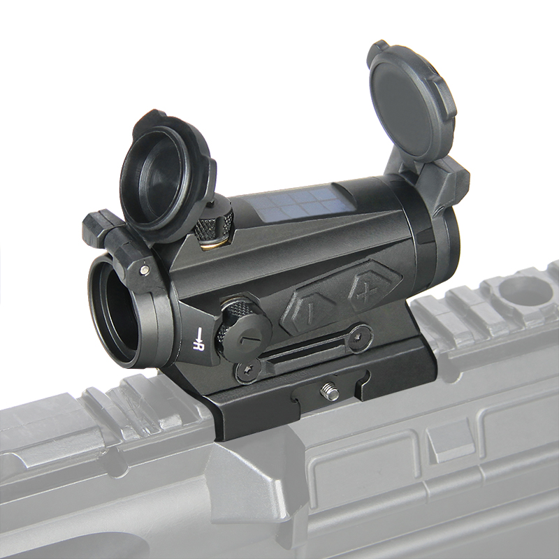 PPT1x20mm Red Dot Sight Riflescope Hunting Optics 1x Reflex Solar Energy 2MOA 65MOA Tactical Scope Rail Picatinny Rail PP2-0126