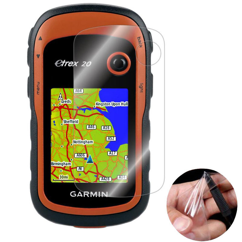 Clear Screen Protector Cover Protective Film Guard For <font><b>Garmin</b></font> eTrex 10 20 30 10X 20X 30X 201x 209x 301 309x Hiking <font><b>Handheld</b></font> <font><b>GPS</b></font> image