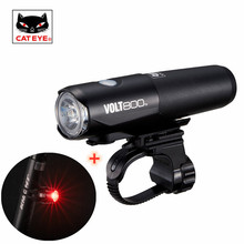 Cycling-Light Waterproof Bicycle Volt400 CATEYE Front-Handlebar-Light Rechargeable Super