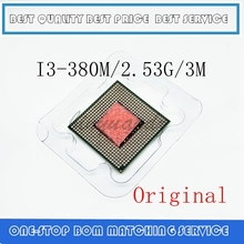 core Processor I3 380M 3M Cache 2.5 GHz Laptop Notebook Cpu Processor Free Shipping I3-380M