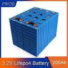 PWOD 8PCS CALB 200Ah nicht 280AH 150AH 3,2 V SE200AH Lithium-LiFePO4 Zelle pack diy für solar RV EV pack 12V 24V 48V EU UNS STEUER FREIES