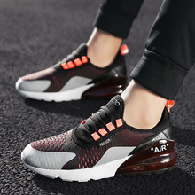 New colors sneakers air cushion men's non-slip casual shoes men's breathable shock-absorbing running shoes slip on shoes men цена
