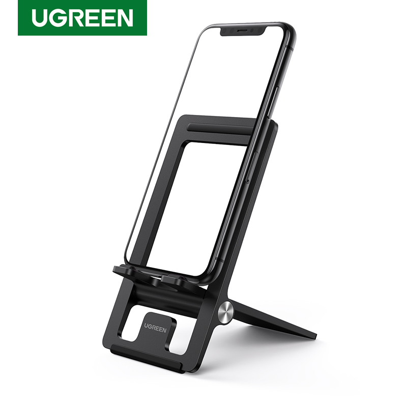 Ugreen Cell Phone Stand for Desk Adjustable Phone Holder Dock for iPhone 11 Pro Max XS XR 8 7 Foldable Mobile Phone Holder Stand|Phone Holders & Stands| - AliExpress