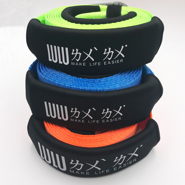 Car Tow Rope 5 M 10 Tons Hand Holding Rope Off-Road Car Strong Trailer Rescue Customizable