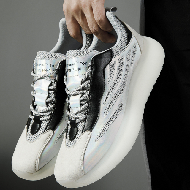 Al aire libre zapatillas de correr para hombre transpirable zapatillas de deporte Hombre cómodas antideslizante de amortiguación deportes zapatos de tendencia de QualityTraining zapatos 2
