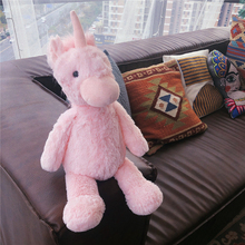 цена Hot Nice Lovely Unicorn Plush Toy Pink Fly horse With Rainbow Wings Baby Kids Appease Doll Birthday Gift For Little Girl онлайн в 2017 году