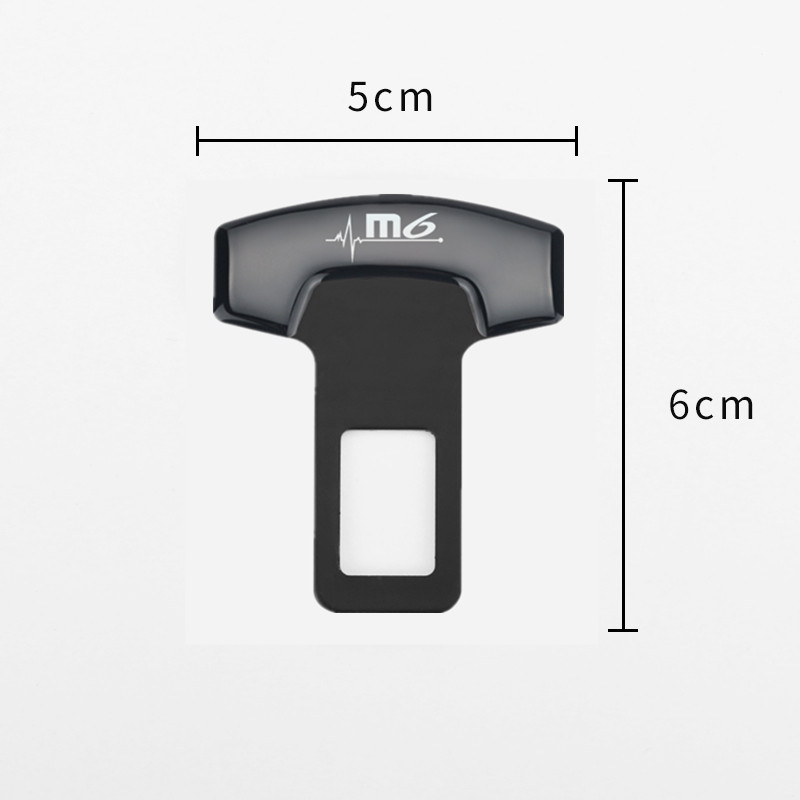 Image 3 - 1pcs Car Belt Buckles Car Seat Safty Belt Alarm Canceler Stopper for Mazda M6 Mazda 3 mazda 6 CX 5 CX 5 Accessories Car Styling-in Car Tax Disc Holders from Automobiles & Motorcycles