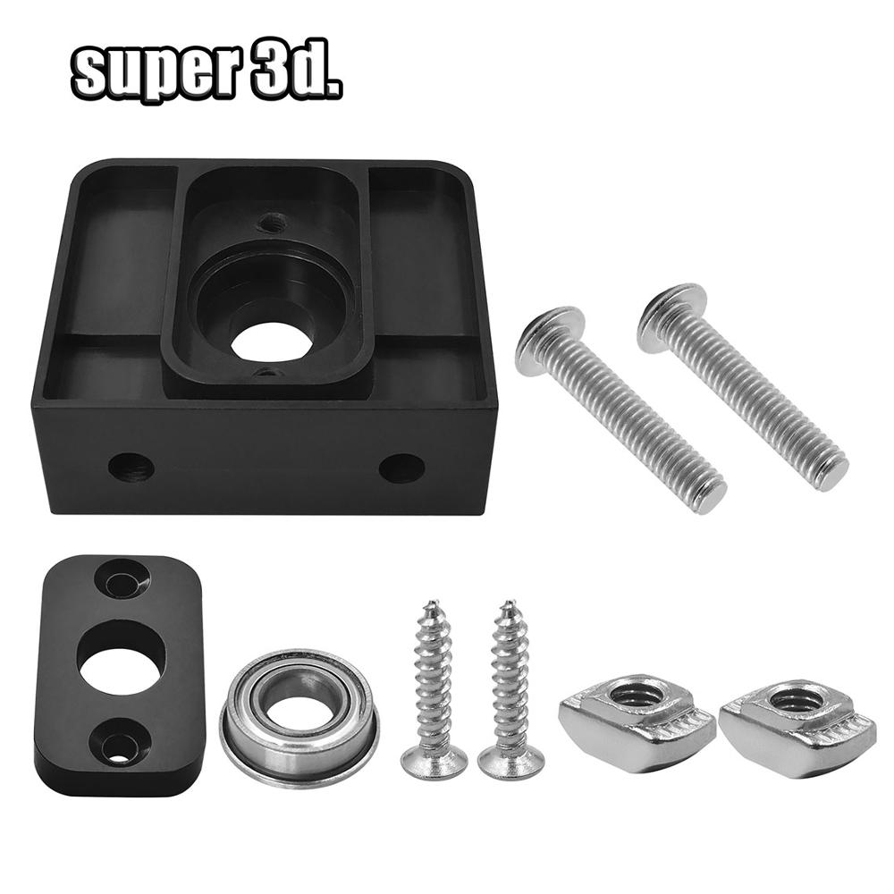 Z-Axis T8 Lead Screw Top Mount Fixed Seat For 3D Printer CR-10 ENDER 3  Pro Tornado Plastic POM  Z-Rod Bearing Holder Parts