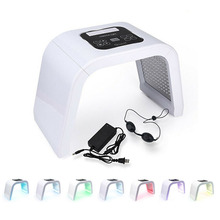 7 цветов PDF светодиодный светильник маска для лица терапия маска Анти-отбеливание акне тушь для ресниц светодиодный для лица фототерапия спектрометр