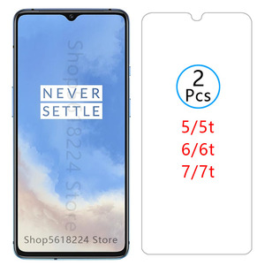 protective glass for oneplus 7t 6t 5t 7 6 5 t tempered glas screen protector on one plus t7 t6 t5 oneplus7t plus7t plus7 plus6t(China)