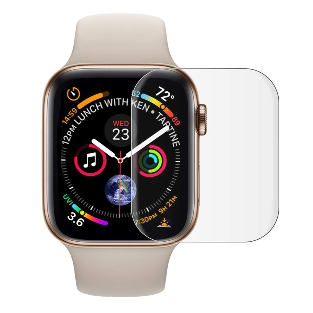 Full Protective Film For Apple Watch 5 4 44mm 40mm Screen Protector 3D Case 42mm 38mm Iwatch 3 2 1 Soft Films Not Tempered Glass