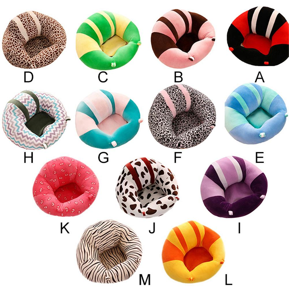 Baby Sitting Cushion Baby Seat Support Soft Baby Sofa Cotton Safety Travel Car Seat Pillow Plush Legs Feeding Chair Babystoel