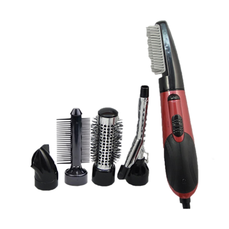 EU Plug Multifunctional Hot Air Brush Set, Hot Air Brush, Hair Dryer Brush, Styling Comb Hair Dryer