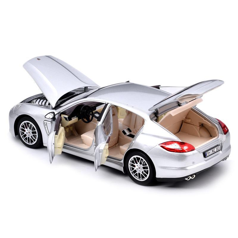1:18 Simulation Alloy Sports <font><b>Car</b></font> <font><b>Model</b></font> For Life Decoration With Children's Steering <font><b>Wheel</b></font> Control Front <font><b>Wheel</b></font> Steering <font><b>Model</b></font> Toy image