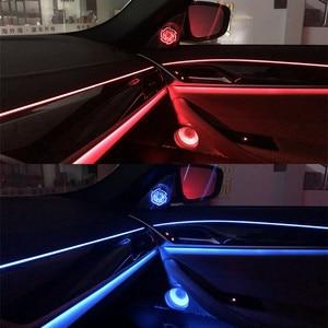 Image 5 - Araba ışık ses kapakları BMW G30 G38 ön kapı müzik ses trompet kafa tiz kapak kızdırma hoparlör Tweeter hoparlörler LED