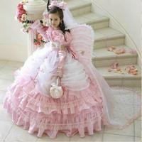 Most Popular Long Sleeve Ball Gown Floor Length Butterfly Princess Flower Girl Dress For Wedding