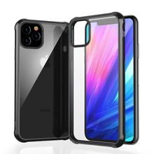 NEW case for Apple iPhone 11 2019,for Pro Max Case Shockproof Degree Clear Protect Soft TPU + Hard PC Plastic Cover