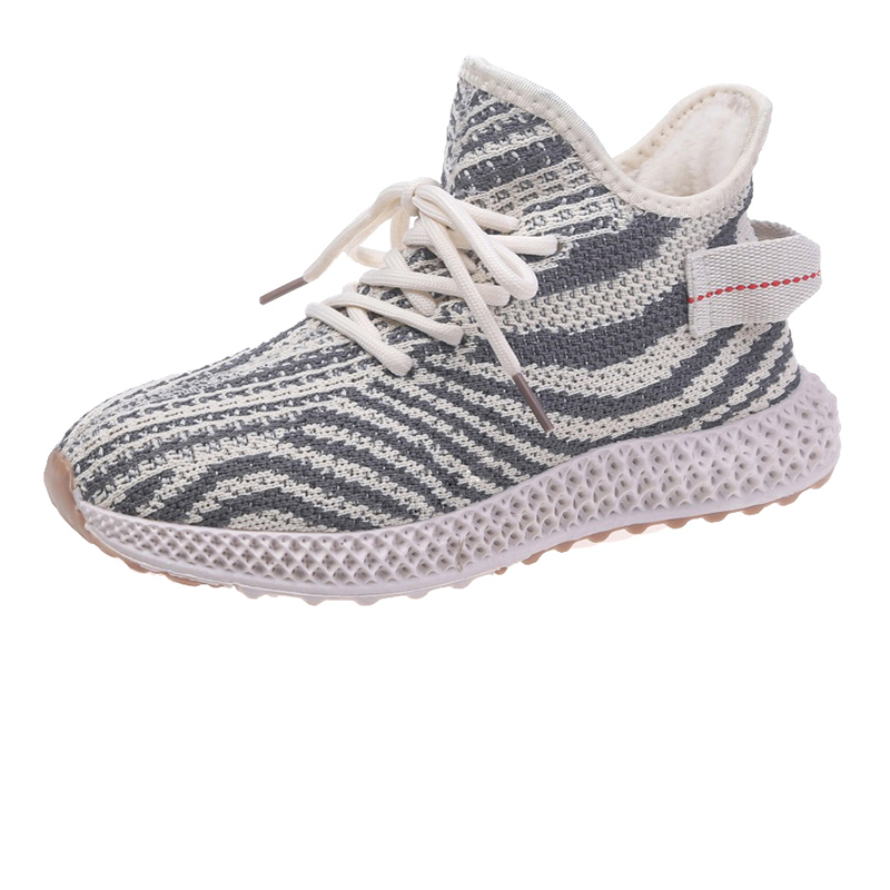 Cheap 2020 new fashion student women's cotton shoes, sneakers, fly woven shoes, all kinds of casual round head women's shoes