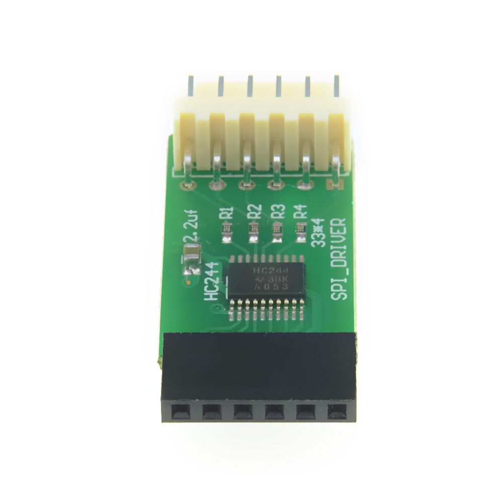 New ICSP Enhancement Module SPI DRIVER SPI Flash In Circuit Programming Adapter For Minipro TL866II PLUS USB Programmer